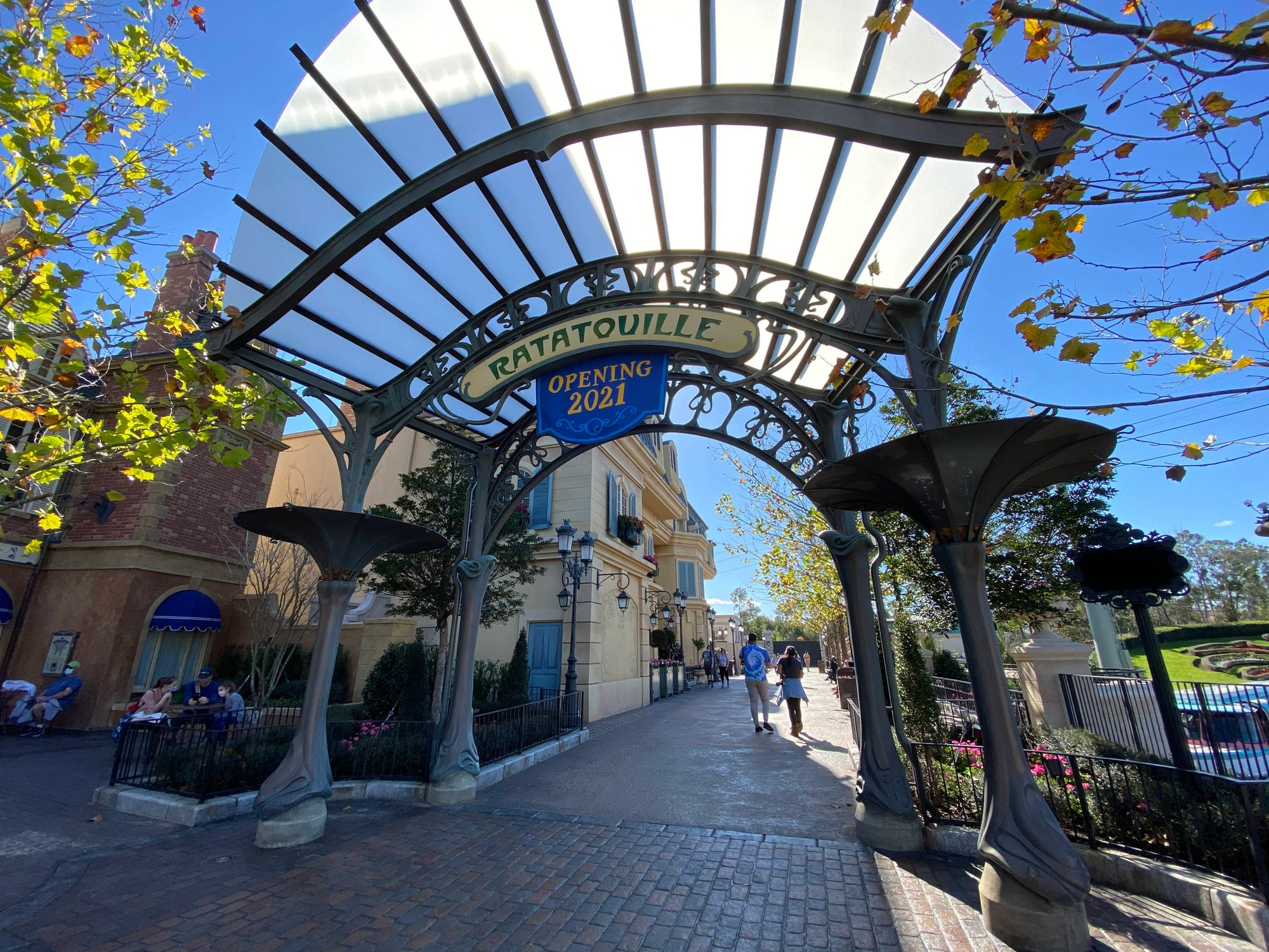 First Portion of France Pavilion Expansion Now Open at Epcot