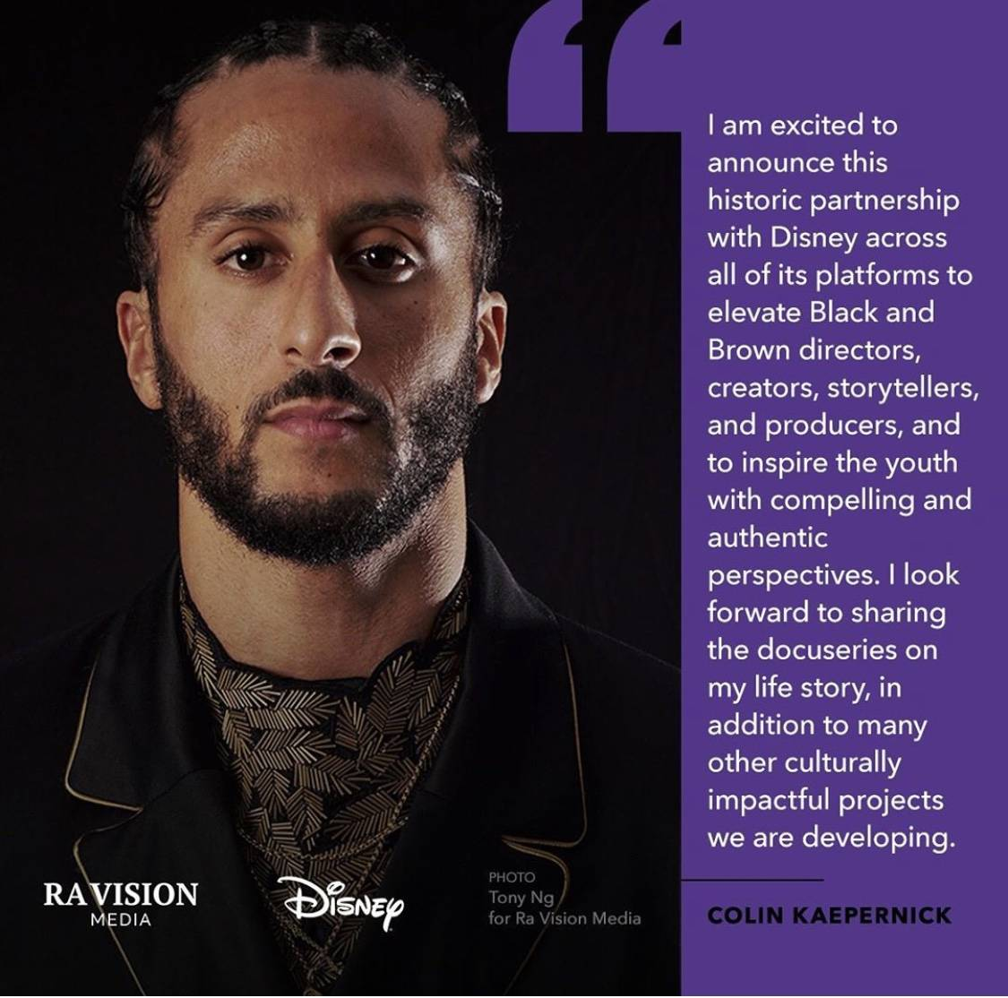 Know Your Rights Camp Teams Up With Disney to Elevate Black and Brown Creators