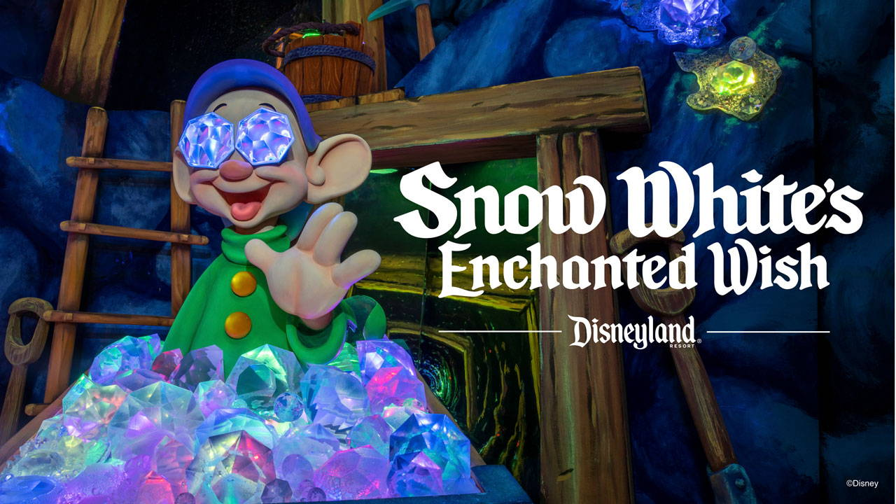 "First Look at ""Snow White's Enchanted Wish"" at Disneyland Park"