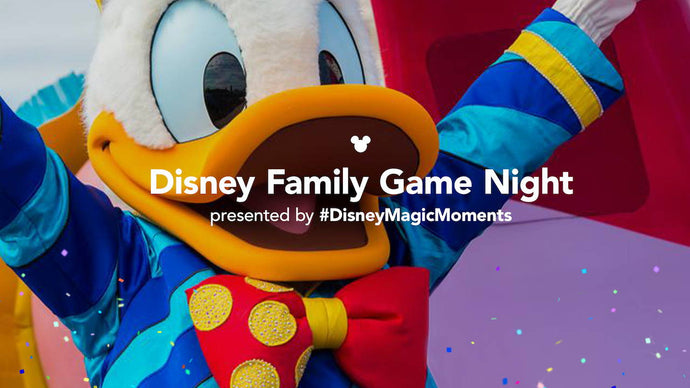 First-Ever Virtual Disney Family Game Night Happening This Friday