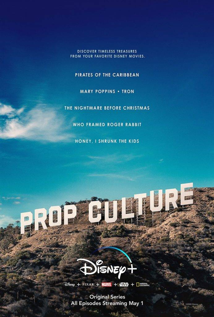 "New Disney+ Series ""Prop Culture"" Will Give a Sneak Peek Into the Walt Disney Archives"