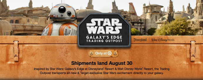 Star Wars: Galaxy's Edge is Coming Soon to a Target Near You!