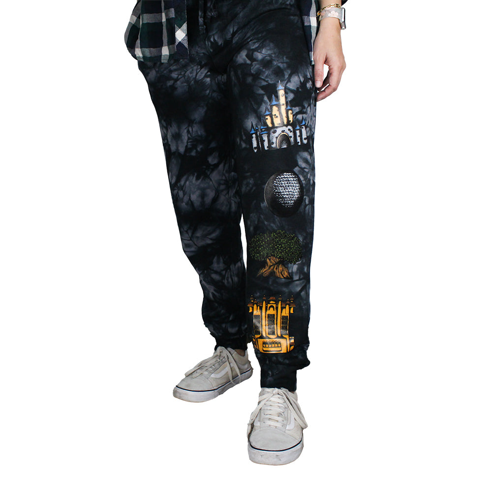The Lost Bros Four Parks Joggers - Tie Dye