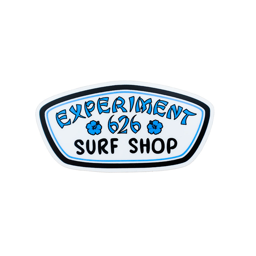 The Lost Bros 626 Surf Shop Sticker