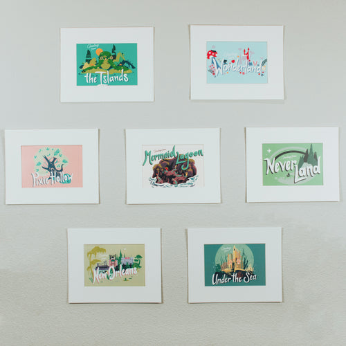The Lost Bro's x The Pixie Traveler Vintage Postcard Print Collection