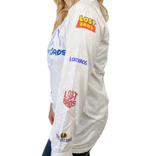 Load image into Gallery viewer, LB Movie Logo Long Sleeve Tee - White The Lost Bros
