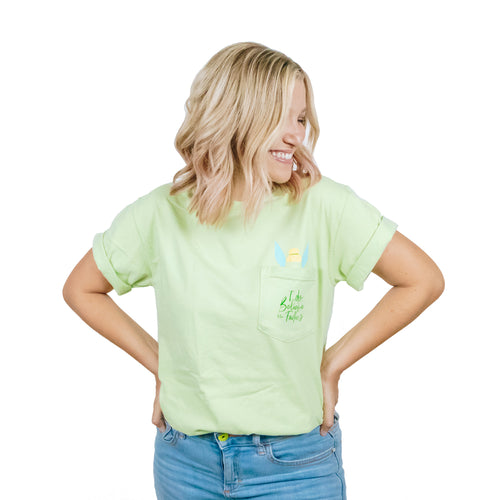 The Lost Bro's x The Pixie Traveler I Do Believe in Fairies Pocket Tee