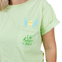 Load image into Gallery viewer, The Lost Bro's x The Pixie Traveler I Do Believe in Fairies Pocket Tee