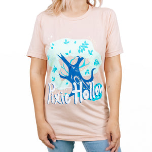 The Lost Bro's x The Pixie Traveler Greetings From Pixie Hollow Tee