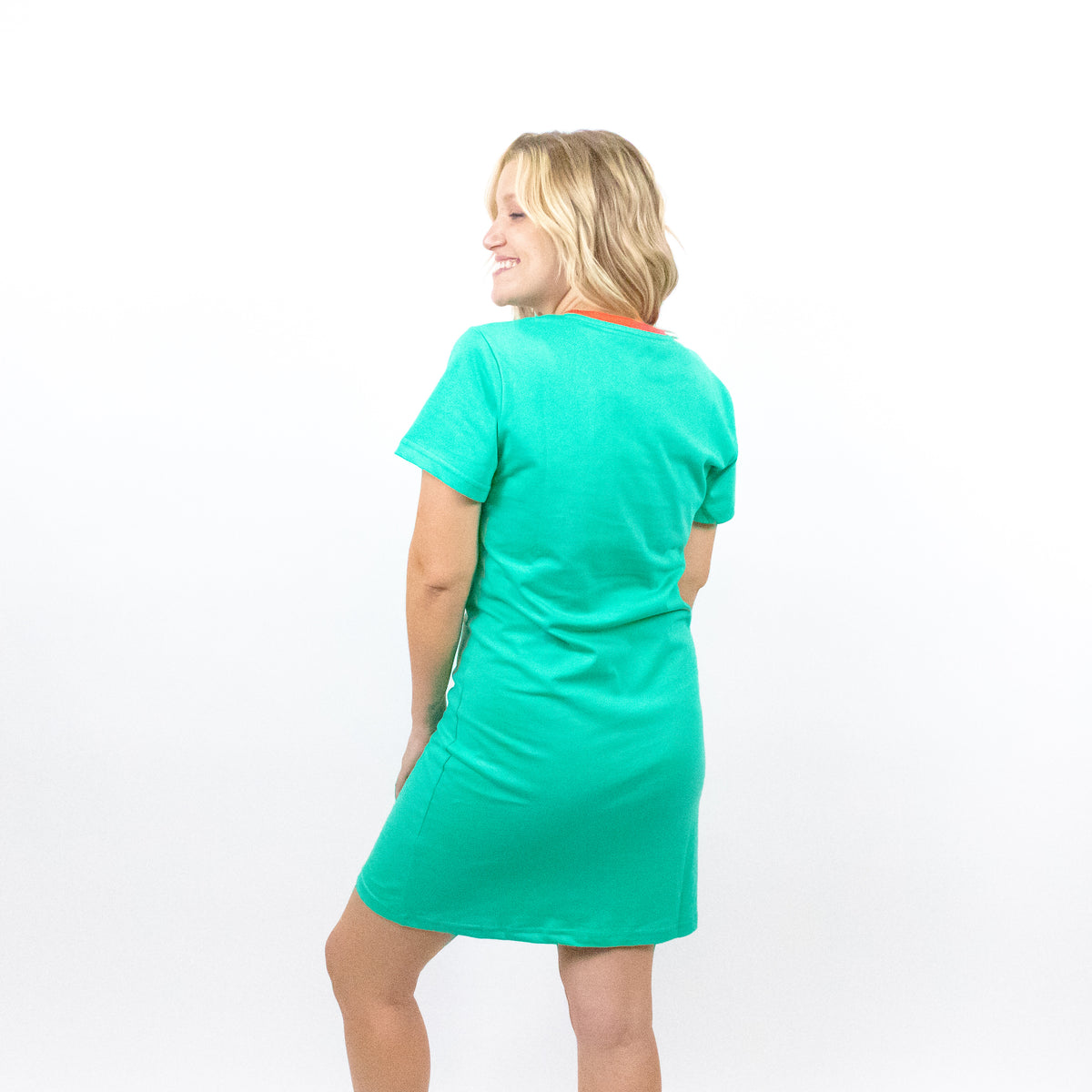 The Lost Bros Mermaid T-Shirt Dress