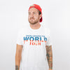 The Lost Bro's Drink Around the World Tour Tee - Patriotic Variant