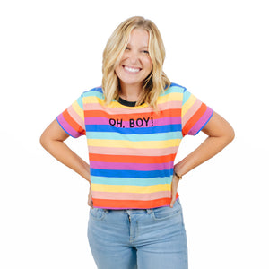 The Lost Bro's Oh Boy Crop Top