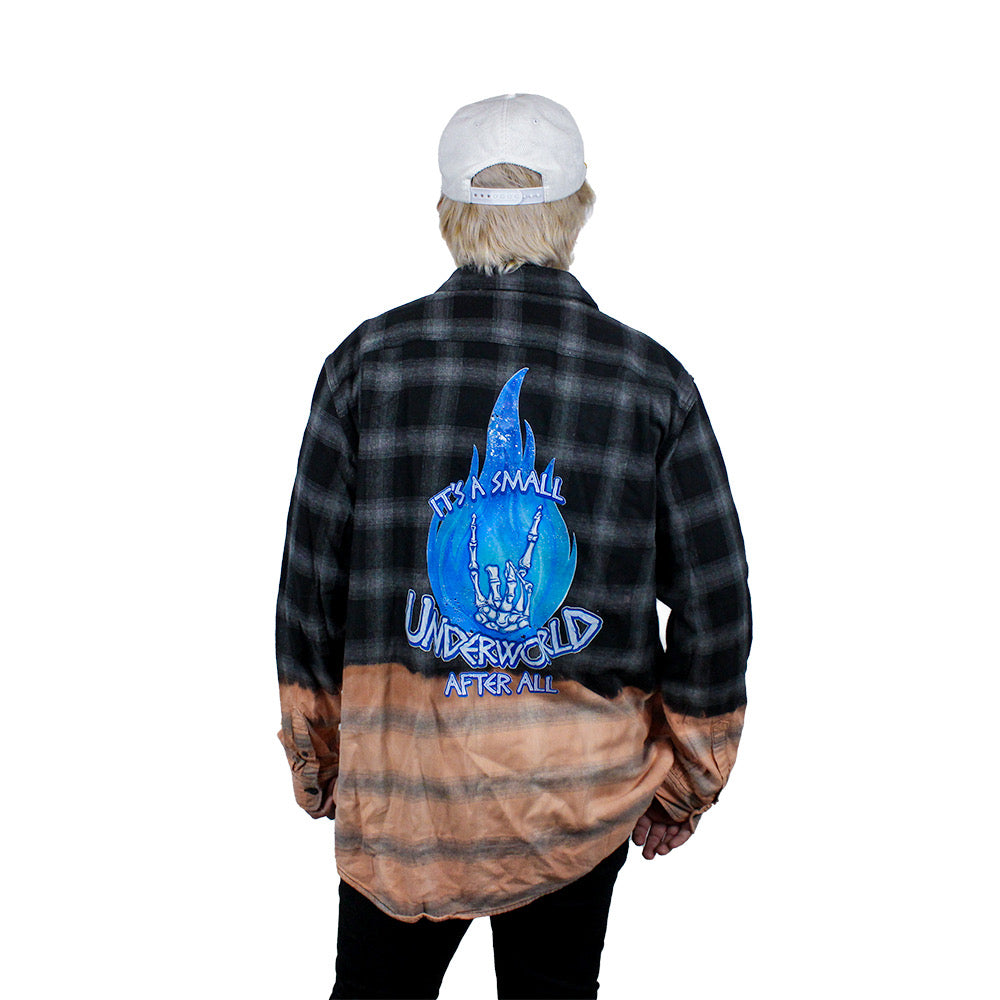 The Lost Bros Small Underworld Bleached Flannel
