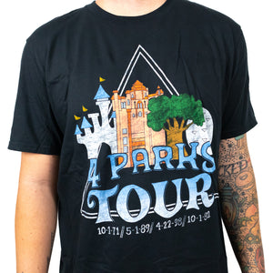 The Lost Bro's 4 Parks Tour Tee