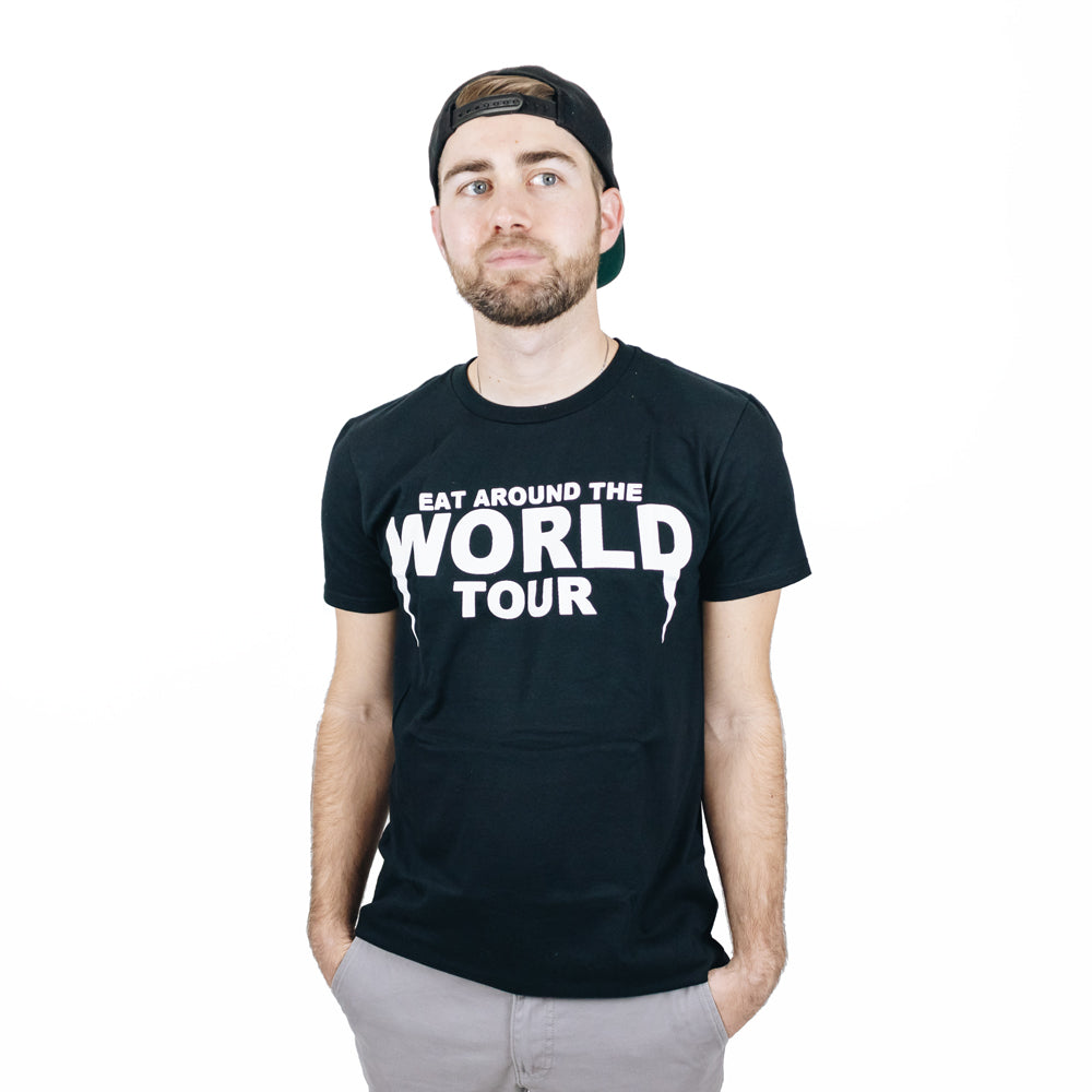 The Lost Bro's Eat Around the World Tour Tee