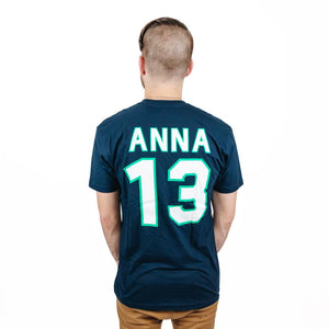 The Lost Bro's Princesses Jersey Tee - Anna