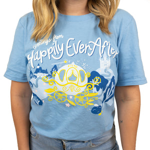 The Lost Bro's Greetings From Happily Ever After Tee