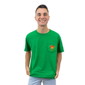 The Lost Bros Clever Girl Pocket Tee
