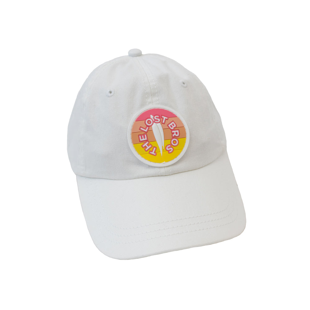 The Lost Bros Logo Summer 20' Hat - White