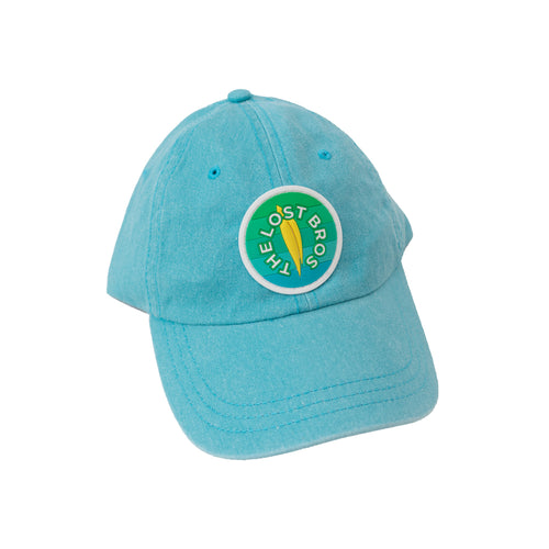 The Lost Bros Logo Summer 20' Hat - Aqua