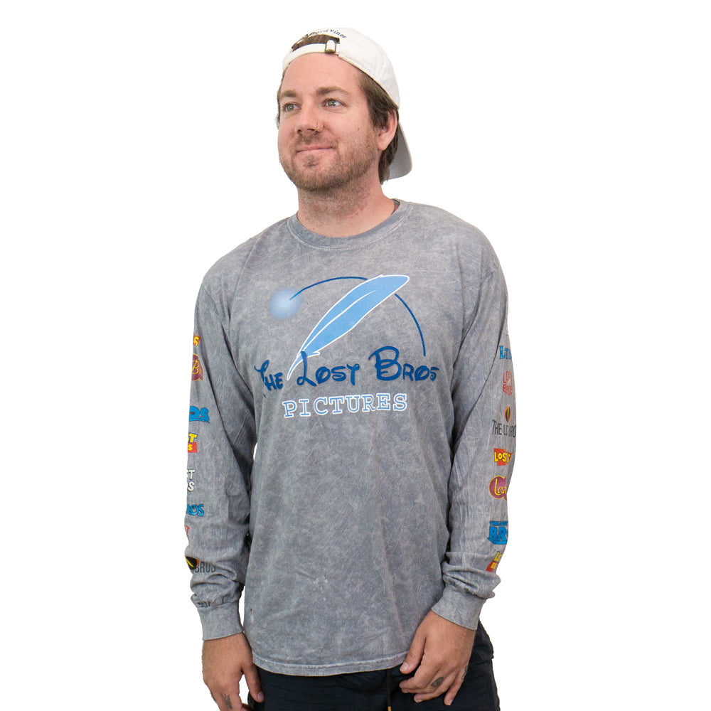 The Lost Bros LB Movie Logo Long Sleeve Tee