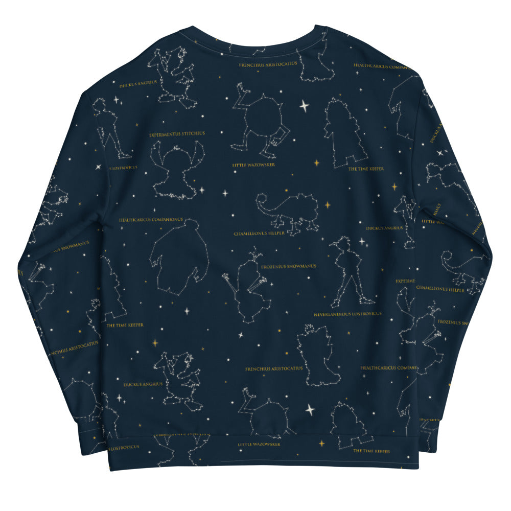 Magical Constellation All Over Print Sweater The Lost Bros