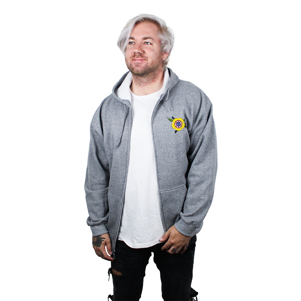 Steve the Boxer Tattoo Zip Up Hoodie The Lost Bros