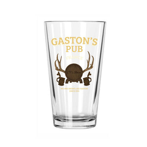 Gaston's Pub Beer Glass The Lost Bros
