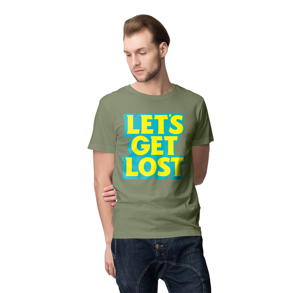 Let's Get Lost Tee - Olive The Lost Bros