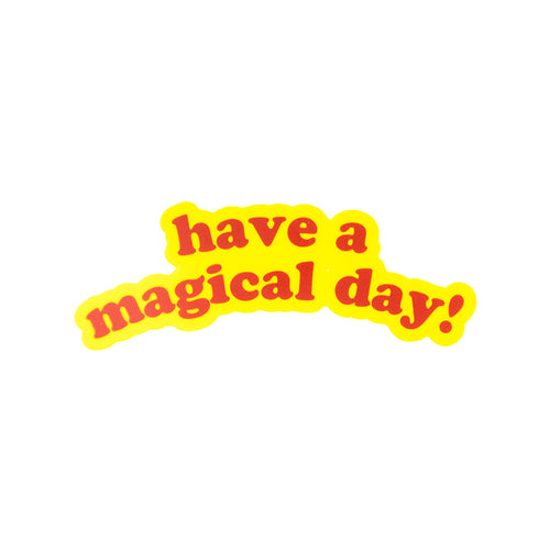 The Lost Bros Have a Magical day Sticker