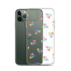 The Lost Bro.'s OH BOY! iPhone Case