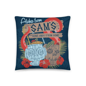 Aloha from Sam's Pillow