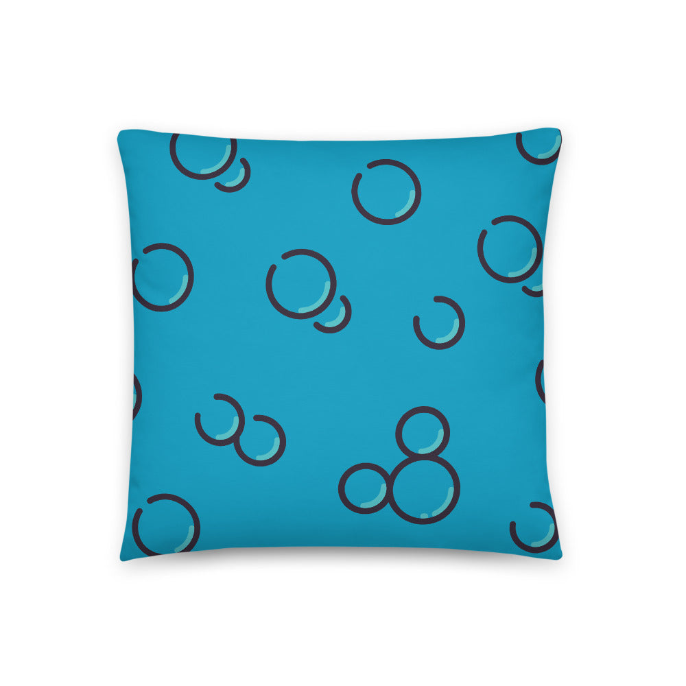 Life is the Bubbles Pillow
