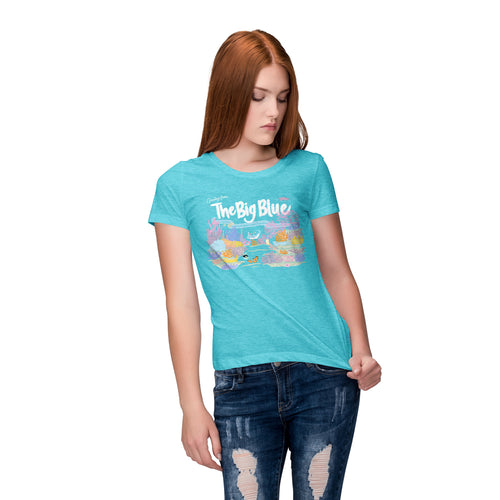 The Lost Bros x The Pixie Traveler Greetings From The Big Blue Tee