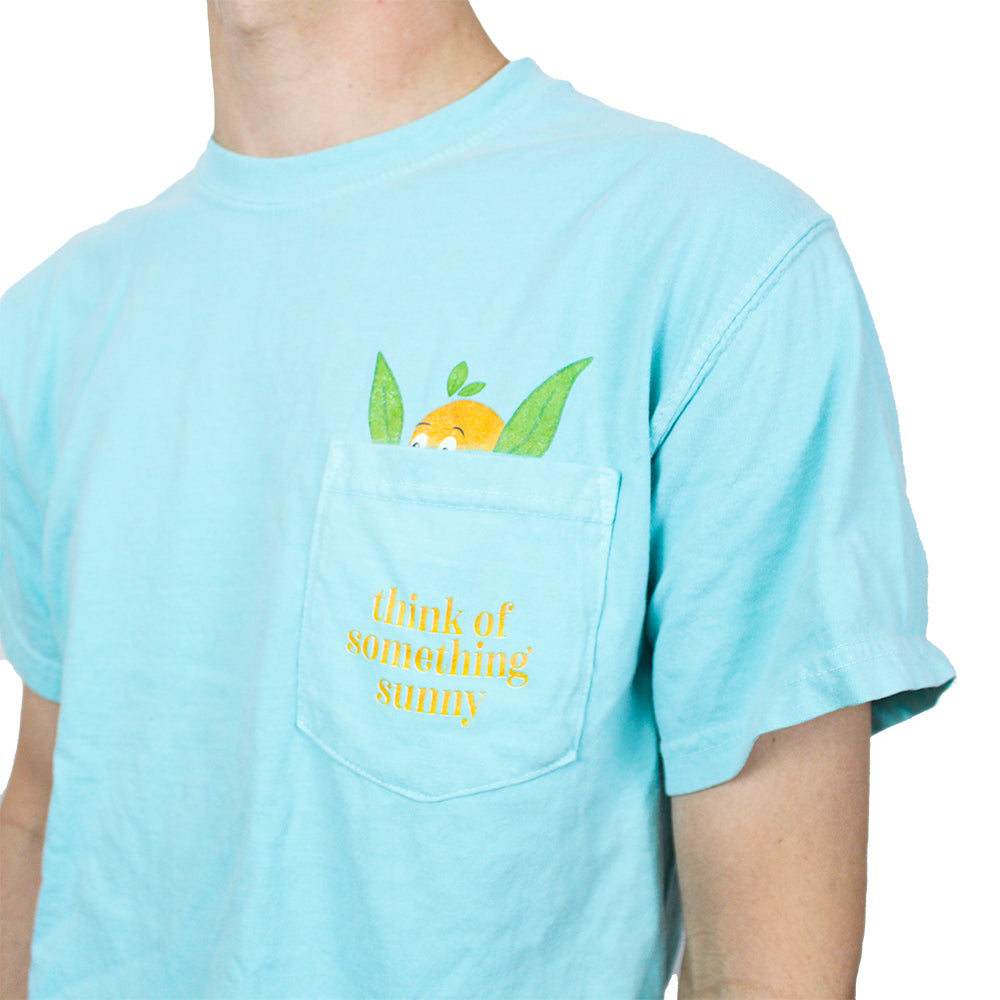 Think of Something Sunny Pocket Tee The Lost Bros