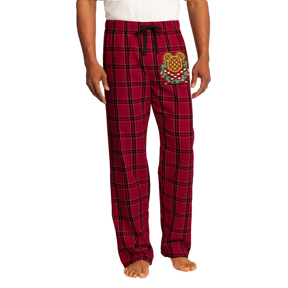 The Lost Bros Christmas Waffle Pajama Pants