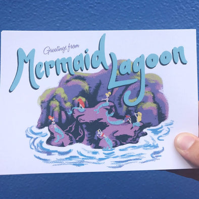 Mermaid Lagoon Print