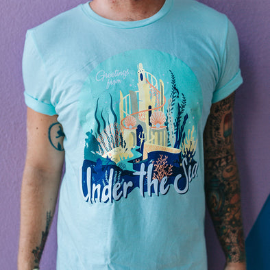 The Lost Bro's x The Pixie Traveler Greetings From Under The Sea Tee