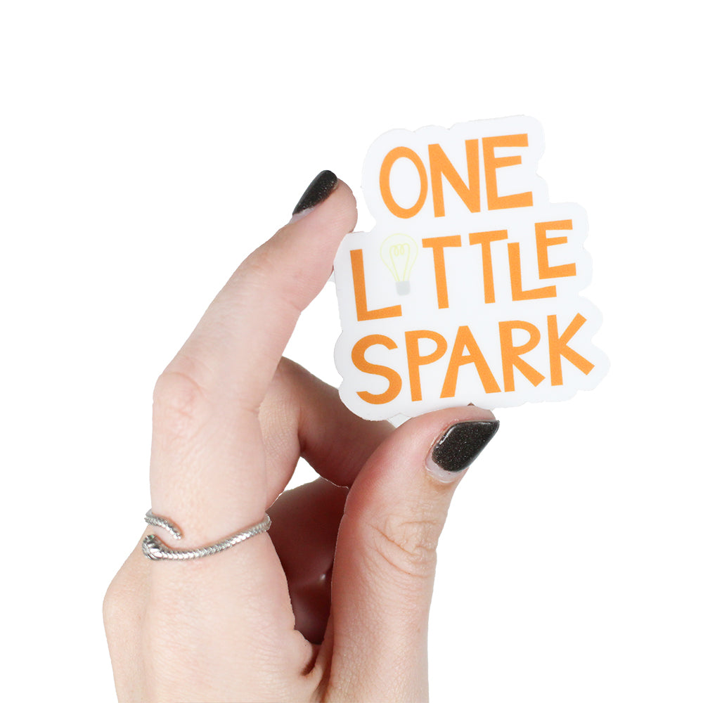 One Little Spark Sticker The Lost Bros