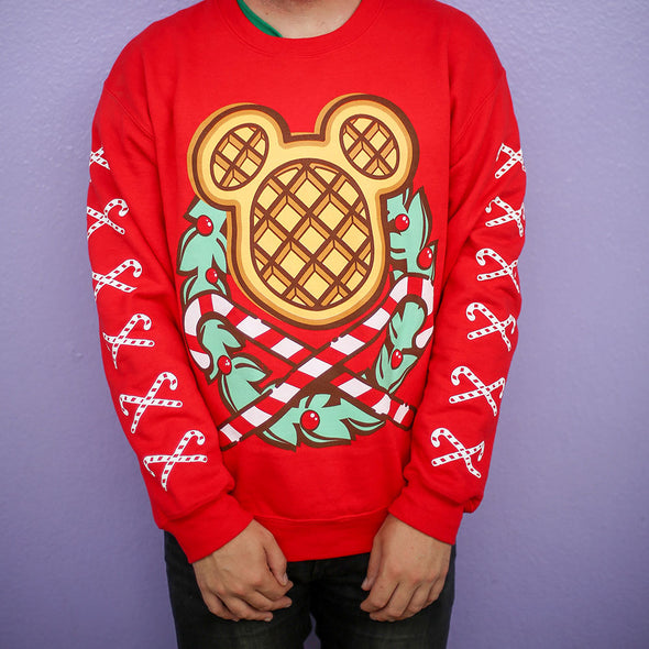 The Lost Bro's Christmas Waffle Sweater