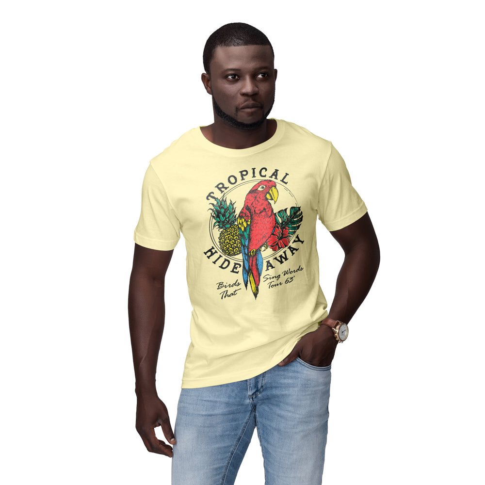 The Lost Bros Tropical Hideaway Tee