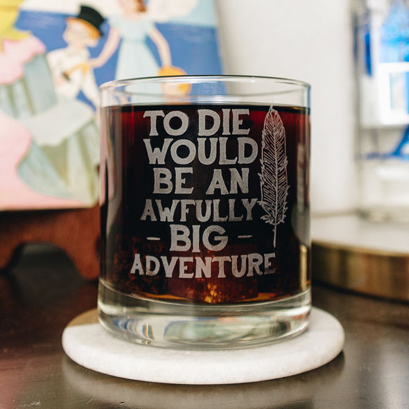 The Lost Bros Awfully Big Adventure Glass