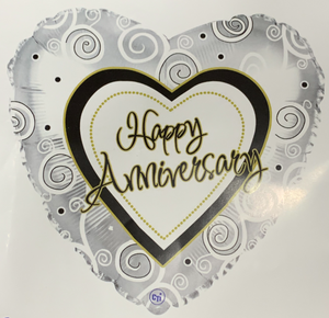 Anniversary Swirls Balloon #6