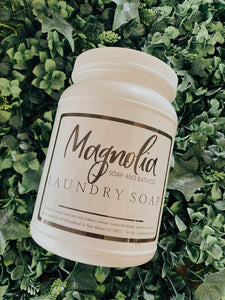 Magnolia Laundry Soap 35oz.