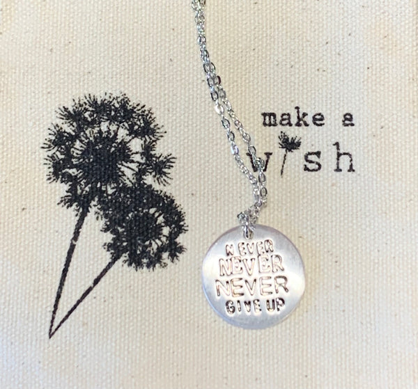 Inspirational Simple Charm Chain