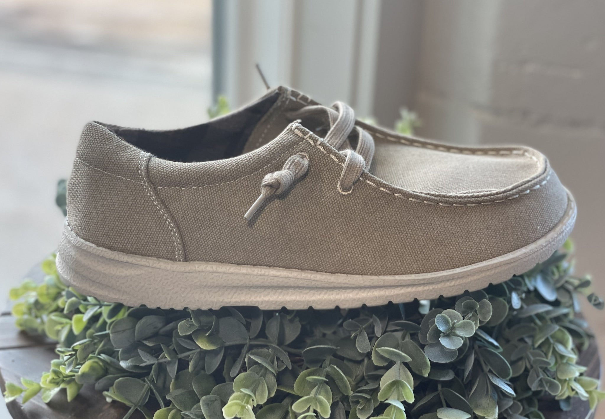 Men's Ron Shoes- Natural