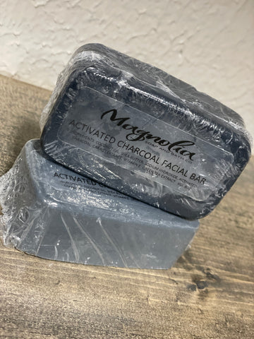 Magnolia Soap Charcoal Facial Bar