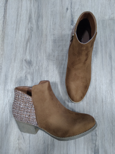 Brown Prevail Booties