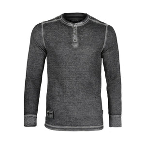 Men's Lightweight Burnout and Heather Athletic Henley