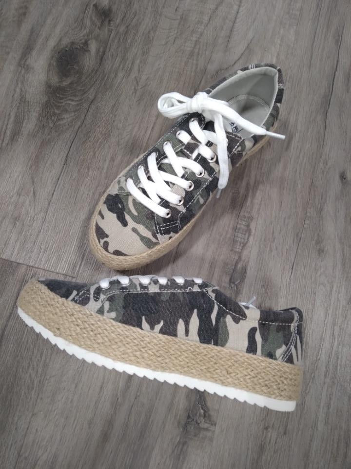 Very G Camo Oxford Sneakers